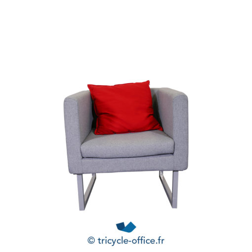 Tricycle Office Mobilier Bureau Occasion Chauffeuse Grise (4)
