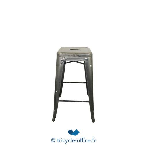 Tricycle Office Mobilier Bureau Occasion Tabouret Haut Type Tolix (2)