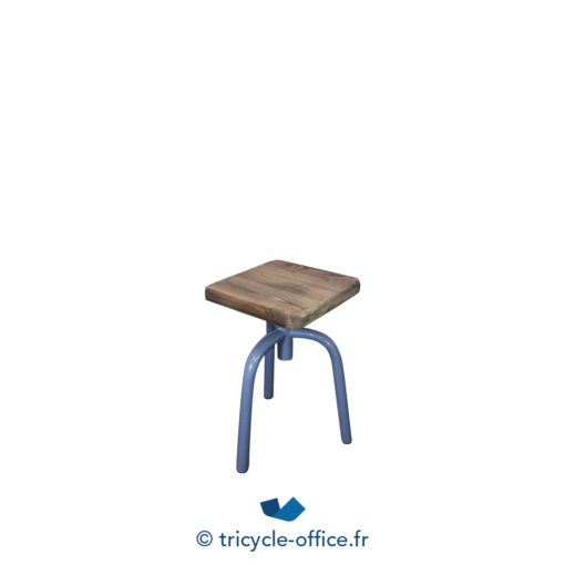 Tricycle Office Mobilier Bureau Occasion Tabouret Trepied Bois (1)