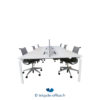 Tricycle Office Mobilier Bureau Occasion Bench 6 Places Haworth (1)