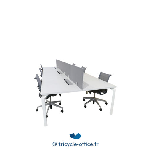Tricycle Office Mobilier Bureau Occasion Bench 6 Places Haworth (2)