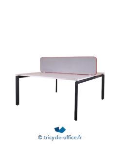 Tricycle Office Mobilier Bureau Occasion Bench De 2 Separateur Gris Steelcase (2)
