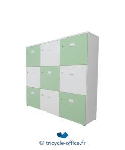 Tricycle Office Mobilier Bureau Occasion Casier 9 Portes (2)