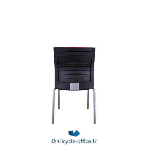Tricycle Office Mobilier Bureau Occasion Chaise Steelcase Rouge (2)