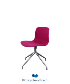 Tricycle Office Mobilier Bureau Occasion Chaise Visiteur Rose (1)