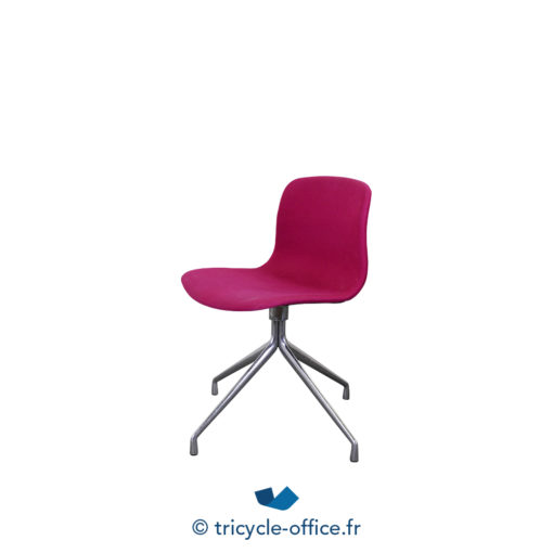 Tricycle Office Mobilier Bureau Occasion Chaise Visiteur Rose (1)