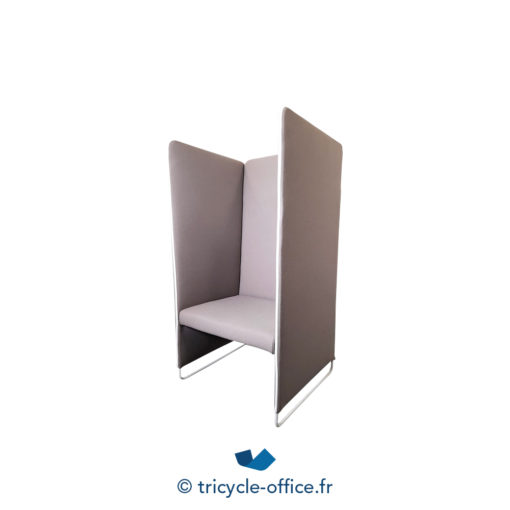 Tricycle Office Mobilier Bureau Occasion Chauffeuse Marron Pedrali (1)