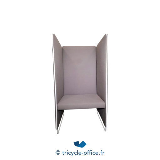 Tricycle Office Mobilier Bureau Occasion Chauffeuse Marron Pedrali (2)