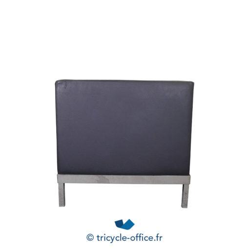 Tricycle Office Mobilier Bureau Occasion Chauffeuse Noir Cuir (3)