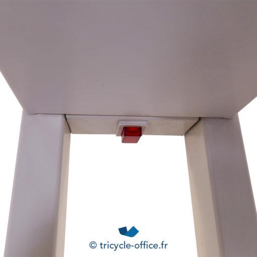 Tricycle Office Mobilier Bureau Occasion Luminaire Blanc 2 Colonnes (2)
