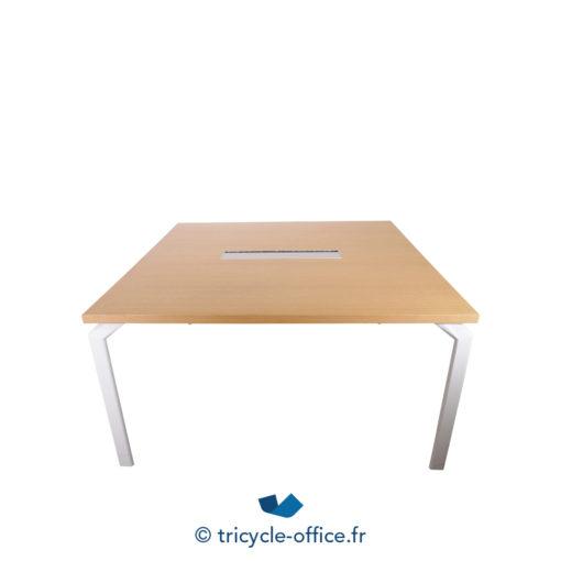 Tricycle Office Mobilier Bureau Occasion Table De Réunion Haworth Passe Câble (1)