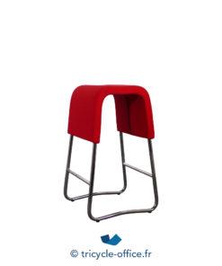 Tricycle Office Mobilier Bureau Occasion Tabouret Design Rouge (2)