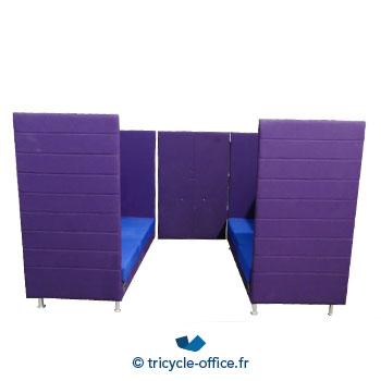 Tricycle Office Mobilier Bureau Occasion Canape Phonique Violet Connecte