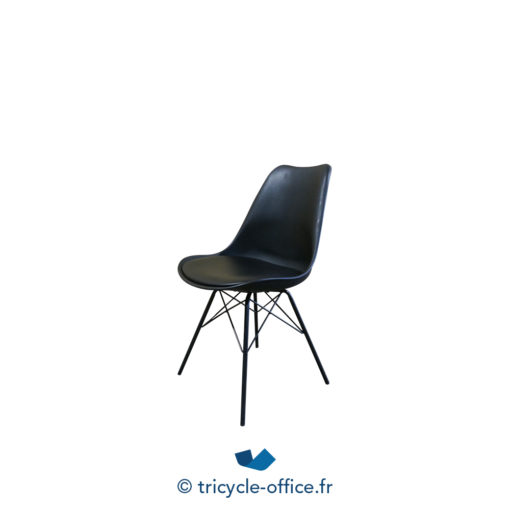 Tricycle Office Mobilier Bureau Occasion Chaise Visiteur Noire Wembley (1)