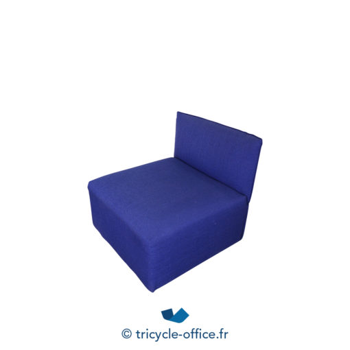 Tricycle Office Mobilier Bureau Occasion Chauffeuse Confortable Bleu (1)