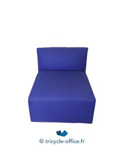 Tricycle Office Mobilier Bureau Occasion Chauffeuse Confortable Bleu (3)