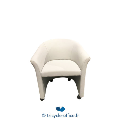 Tricycle Office Mobilier Bureau Occasion Chauffeuse Grise A Roulettes (1)