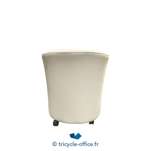 Tricycle Office Mobilier Bureau Occasion Chauffeuse Grise A Roulettes (2)