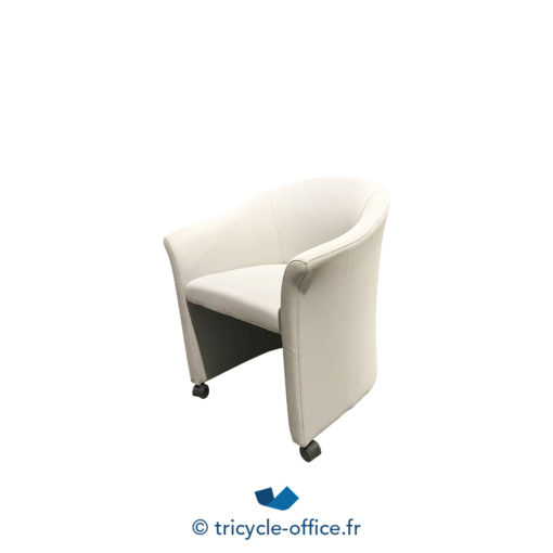 Tricycle Office Mobilier Bureau Occasion Chauffeuse Grise A Roulettes (3)