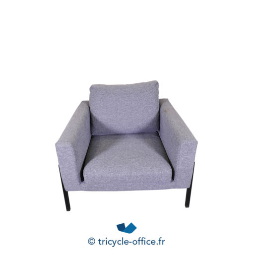 Tricycle Office Mobilier Bureau Occasion Chauffeuse Grise Amovible (1)