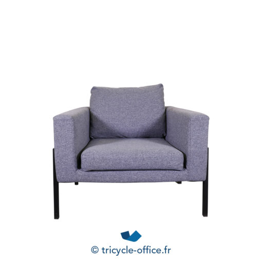 Tricycle Office Mobilier Bureau Occasion Chauffeuse Grise Amovible (2)
