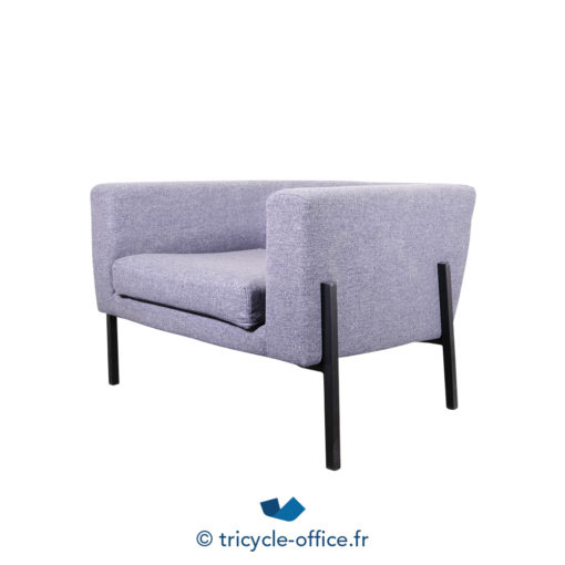 Tricycle Office Mobilier Bureau Occasion Chauffeuse Grise Amovible (3)