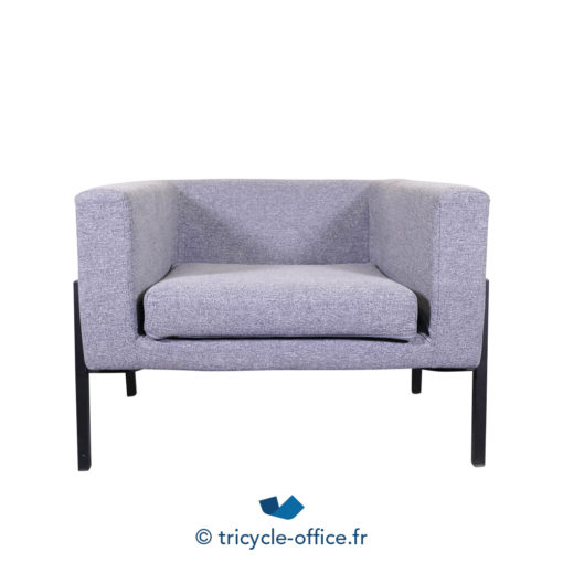 Tricycle Office Mobilier Bureau Occasion Chauffeuse Grise Amovible (4)