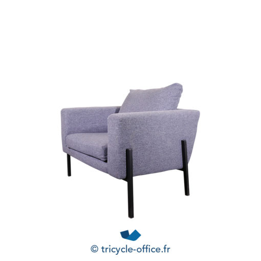 Tricycle Office Mobilier Bureau Occasion Chauffeuse Grise Amovible (6)