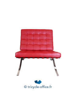 Tricycle Office Mobilier Bureau Occasion Chauffeuse Rouge Type Barcelona (10)
