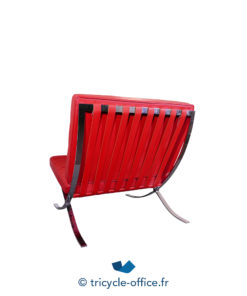 Tricycle Office Mobilier Bureau Occasion Chauffeuse Rouge Type Barcelona (6)