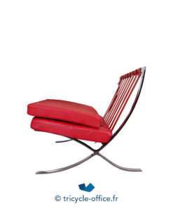 Tricycle Office Mobilier Bureau Occasion Chauffeuse Rouge Type Barcelona (7)