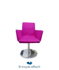 Tricycle Office Mobilier Bureau Occasion Fauteuil De Reunion Design Rose 1 (1)