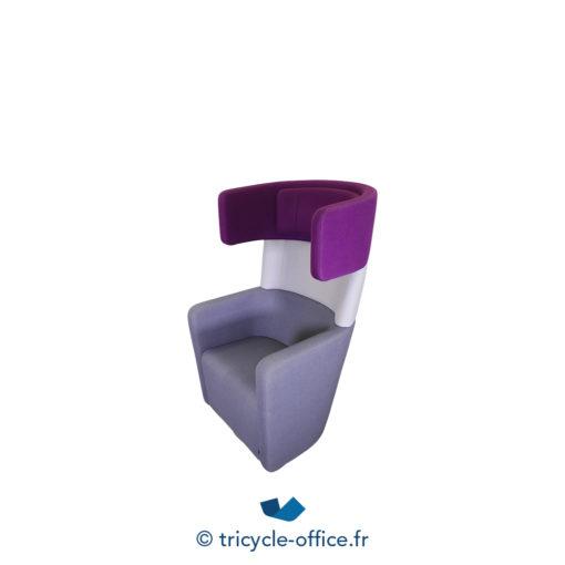 Tricycle Office Mobilier Bureau Occasion Fauteuil Phonique Parc Wing Chair (2)