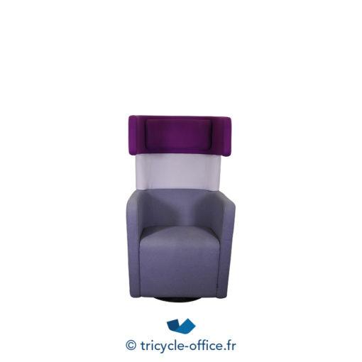 Tricycle Office Mobilier Bureau Occasion Fauteuil Phonique Parc Wing Chair (4)