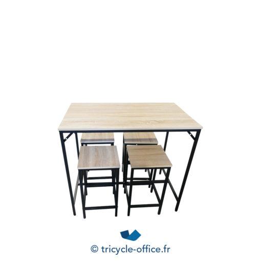 Tricycle Office Mobilier Bureau Occasion Lot Table Haute Et Tabourets Neuf 4