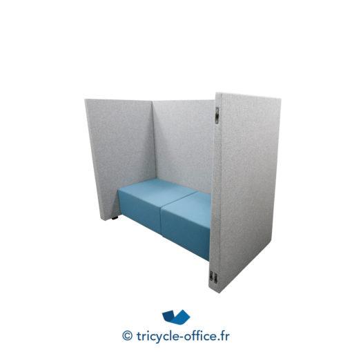 Tricycle Office Mobilier Bureau Occasion Canape Phonique Gris Bleu (3)