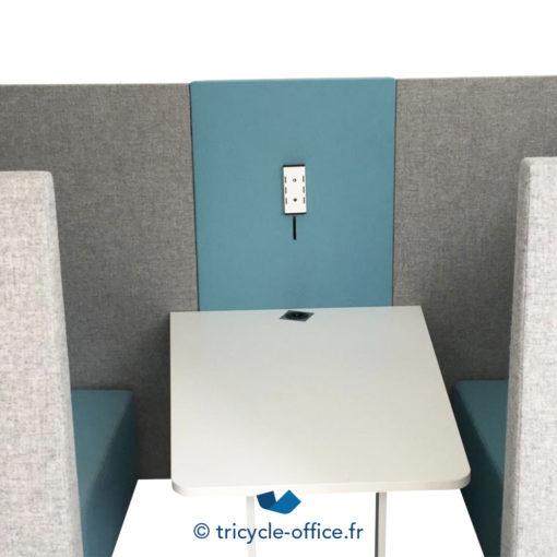 Tricycle Office Mobilier Bureau Occasion Canape Phonique Gris Bleu (4)