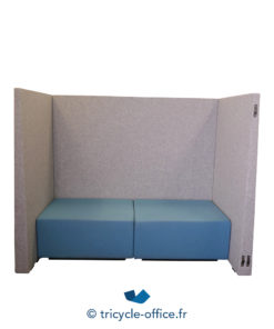 Tricycle Office Mobilier Bureau Occasion Canape Phonique Gris Bleu (6)