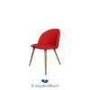 Tricycle Office Mobilier Bureau Occasion Chaise Visiteur Confortable Rouge (3)