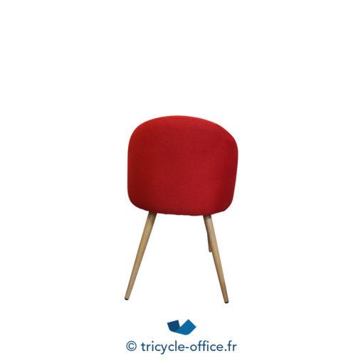 Tricycle Office Mobilier Bureau Occasion Chaise Visiteur Confortable Rouge (4)