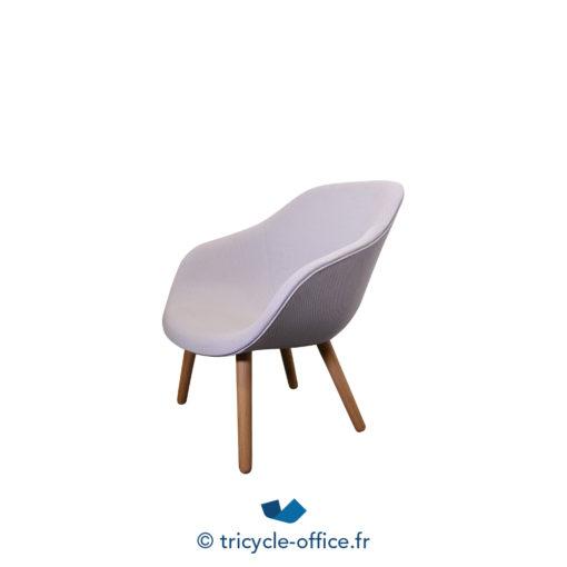 Tricycle Office Mobilier Bureau Occasion Chaise Visiteur Design Grise (1)