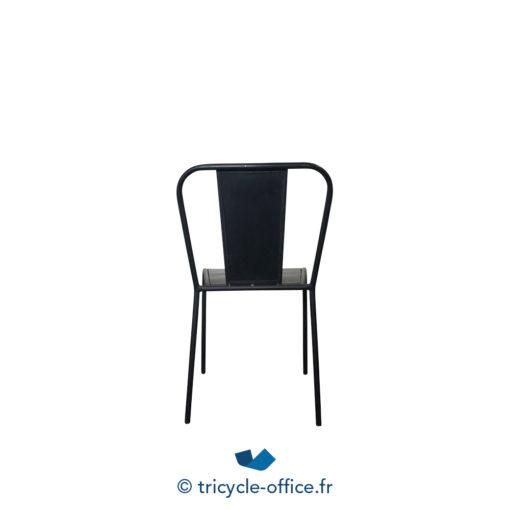 Tricycle Office Mobilier Bureau Occasion Chaise Visiteur Factory Métal Noir (1)