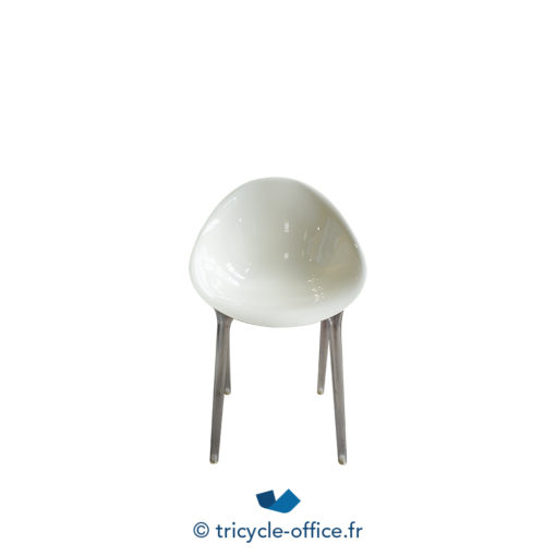Tricycle Office Mobilier Bureau Occasion Chaise Visiteur Mr Impossible Kartell (2)