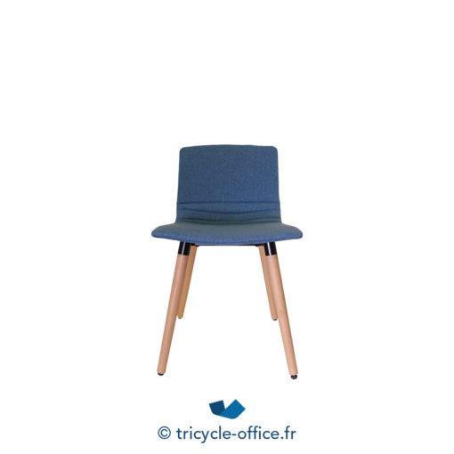 Tricycle Office Mobilier Bureau Occasion Chaises Visiteurs Lianfeng Bleu (1)