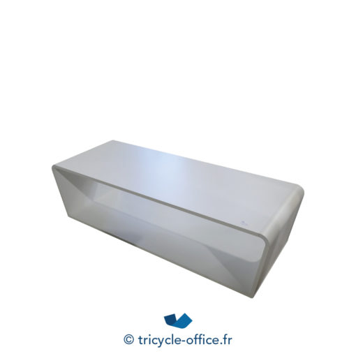 Tricycle Office Mobilier Bureau Occasion Grande Table Basse Design Blanche (1)