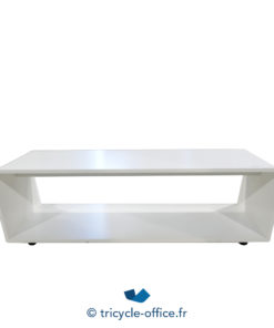 Tricycle Office Mobilier Bureau Occasion Grande Table Basse Design Blanche (2)