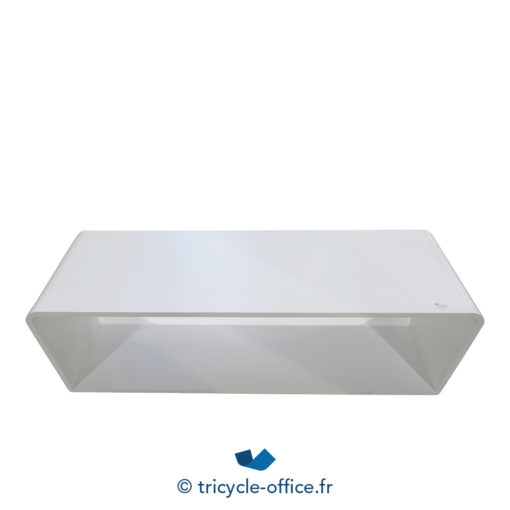 Tricycle Office Mobilier Bureau Occasion Grande Table Basse Design Blanche (3)