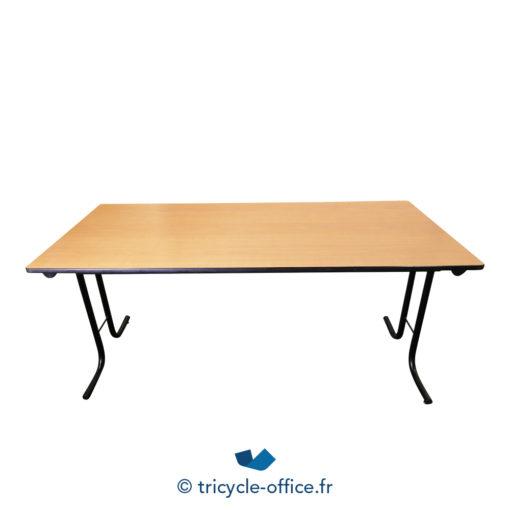Tricycle Office Mobilier Bureau Occasion Table Pliante Bois Clair (1)