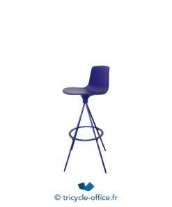 Tricycle Office Mobilier Bureau Occasion Tabourets Colores Lottus Spin Enea Bleu (2)