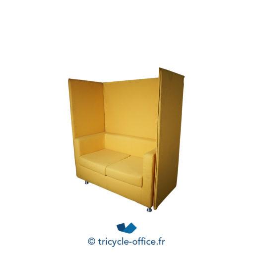 Tricycle Office Mobilier Bureau Occasion Canape Phonique 2 Places Jaune (2)